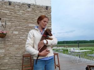 Palanderin Riina ja koira